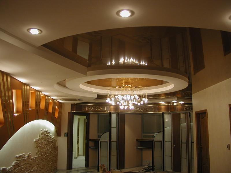 Ремонт потолков фото