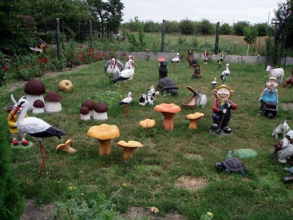 Как украсить сад идея