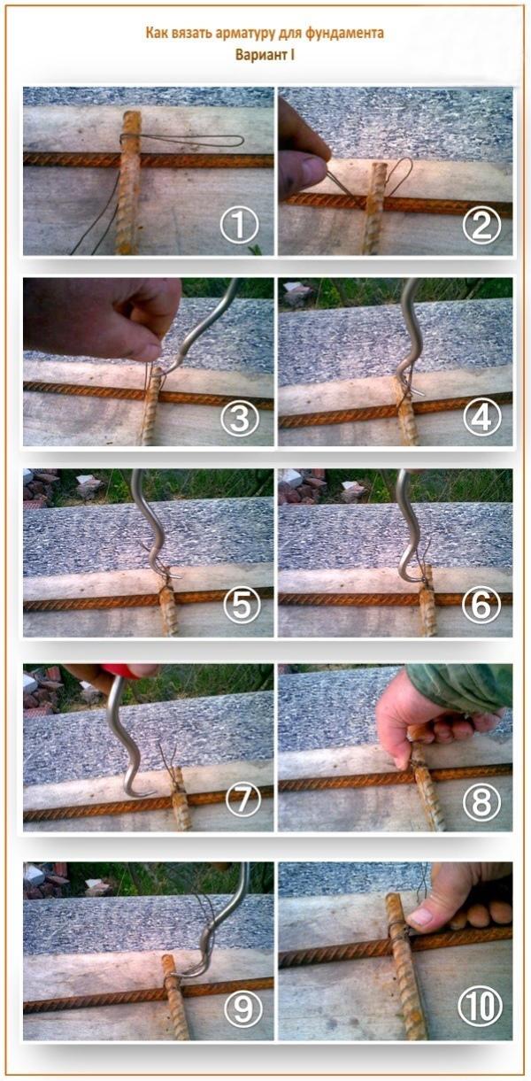 Чем вязать арматурную сетку