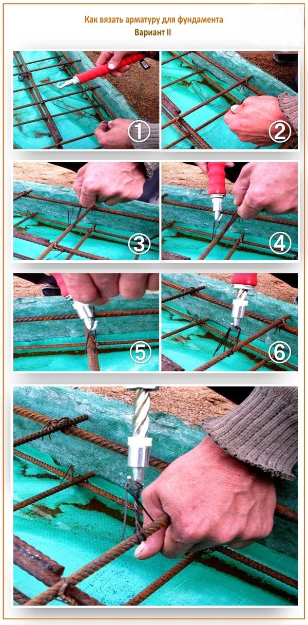 Приспособление для вязания арматуры 78