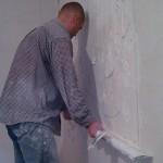 <b>Выравнивание стен штукатуркой</b>