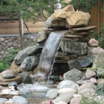 <b>Декоративный фонтан на даче своими руками</b>
