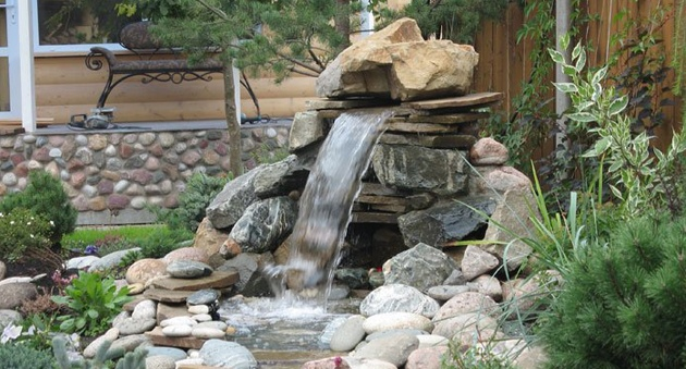 Как своими руками сделать фонтан в саду