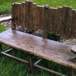 <b>Дачные скамейки своими руками</b>