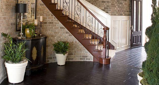 лестница интерьер гостиной