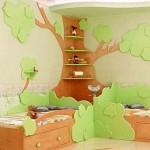 <b>Интерьер детских комнат из дерева</b>
