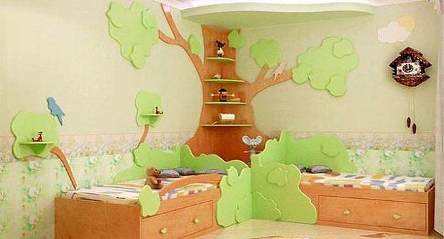 Интерьер детских комнат