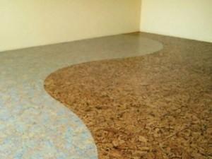 напольные покрытия пробковый пол