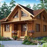<b>Деревянные дома: плюсы</b>