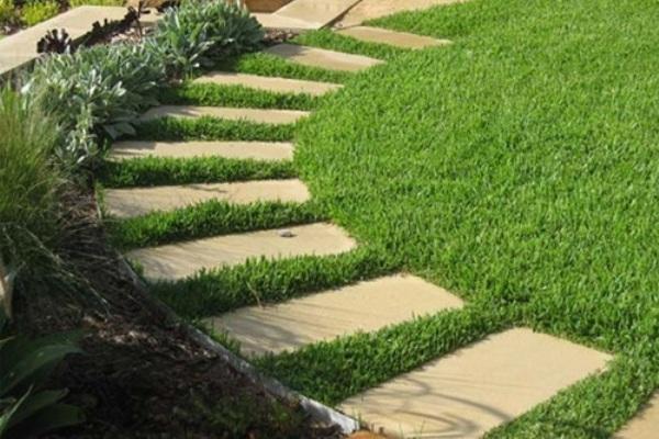 Как сделать дорожку в саду из плит