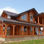 <b>Строительство деревянного дома. Дом из профилированного бруса</b>