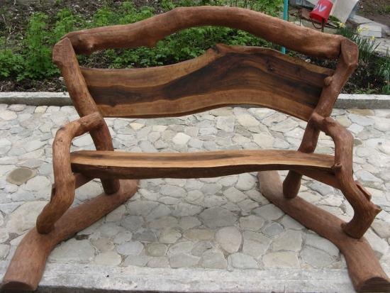 корнепластика-скамейка