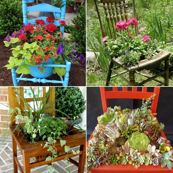 Как украсить сад цветы