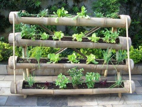 огород-Вертикальные грядки