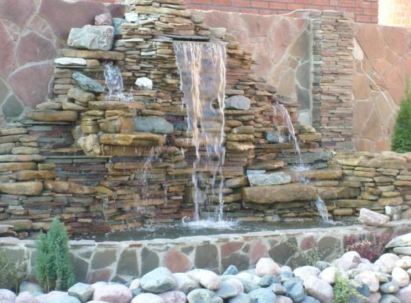 декоративный водопад