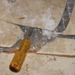 <b>Керамическая плитка -как заменить треснувшую</b>