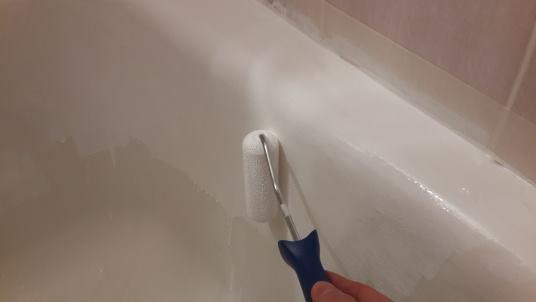 восстановить эмаль ванной