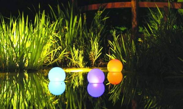 уличный светильник шар