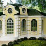 <b>Дом в классическом стиле. Стиль Барокко.</b>