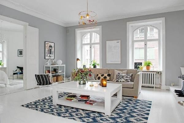 Скандинавский стиль ремонта в квартире