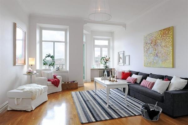 Скандинавский стиль ремонта в квартире-цветовые решения