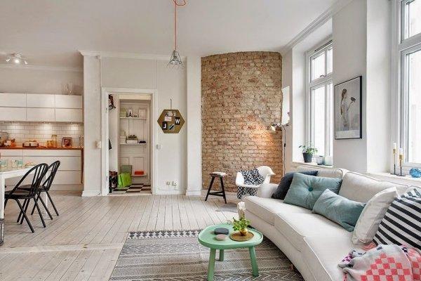 Скандинавский стиль ремонта в квартире-особенности