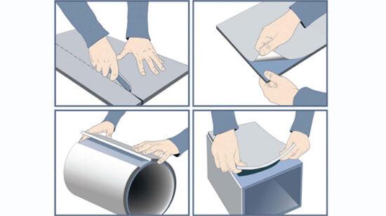 шумоизоляция вентиляции-материал